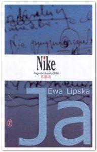 """Ewa Lipska okładka tomiku poezji """"Ja"""""""