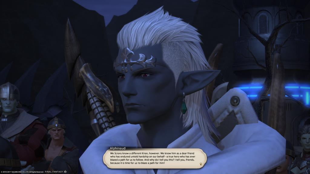 Screenshot z gry Final Fantasy XIV