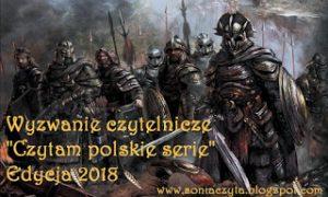 Czytam polskie serie 2018 banner