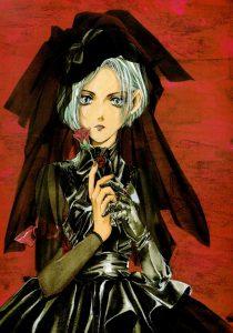 Kurai postać z mangi Angel Sanctuary Kaori Yuki
