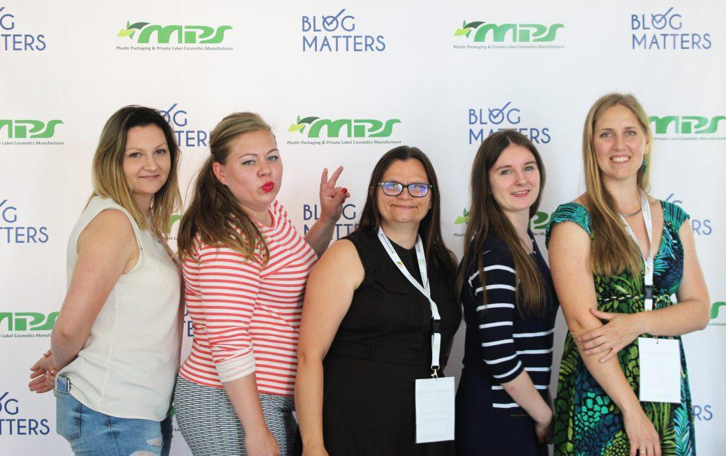 Blog Matters 2018 organizatorki i prelegentki